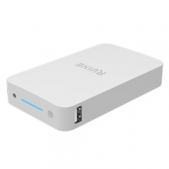 High capacity li-ion 10000mah power bank with LED torch