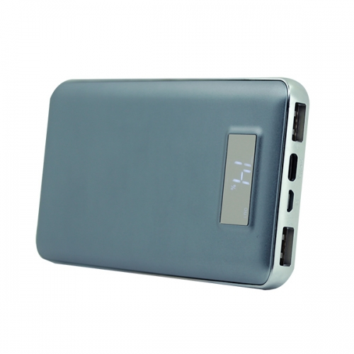 New arrival power bank with Type C and Lightning input ports.